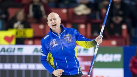 Kevin Koe scores late double to beat Brendan Bottcher for Brier title