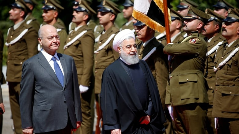 Iran's Rouhani arrives in Iraq on first official visit