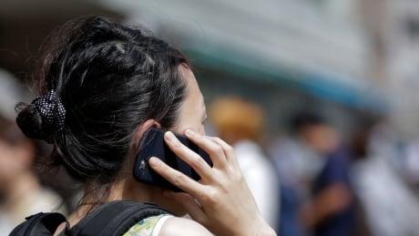 wireless cellphone woman