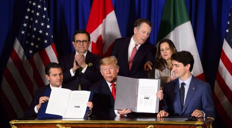 Singh, Trudeau target auto sector votes with different takes on new NAFTA
