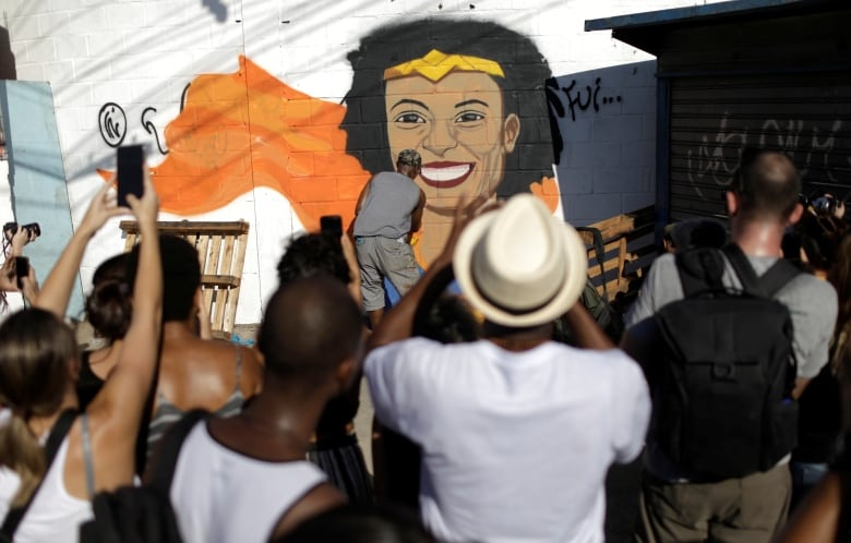 Ex-police officers arrested in killing of Rio de Janeiro council member Marielle Franco