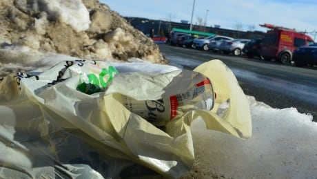 Plastic bag in St. John's