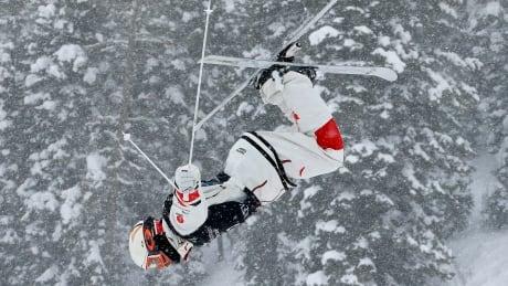 APTOPIX Worlds Moguls Skiing