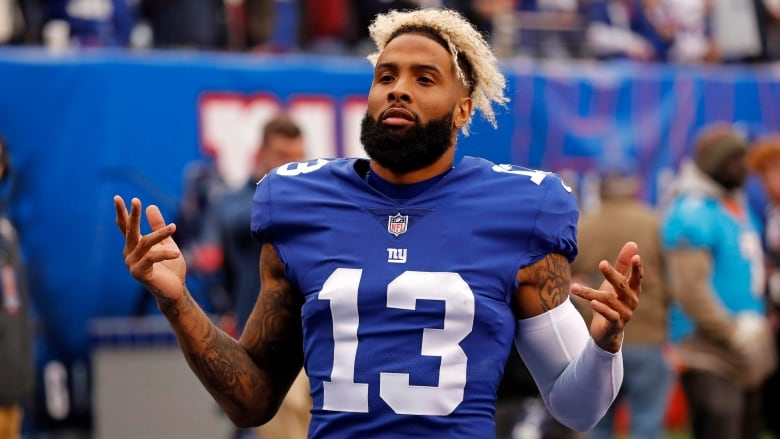 d6f22d85c Wide receiver Odell Beckham (13) has reportedly been traded to the  Cleveland Browns. (Adam Hunger/The Associated Press)