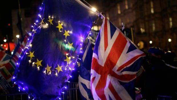 British MPs reject a no-deal Brexit   CBC News
