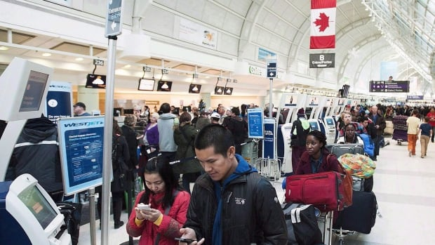 Air Canada, WestJet, Air Transat, Porter hit with $45K in fines for violating new passenger protections   CBC News