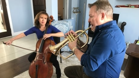 Couple finds love and music in Newfoundland — after 35 years apart