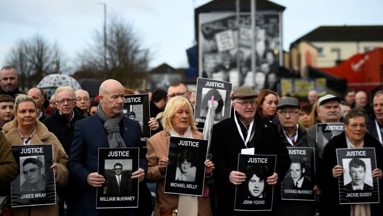 We're not finished yet, insist Bloody Sunday families