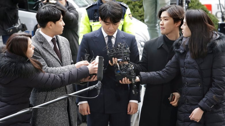 Sex Scandals Take Down K-Pop Stars Jung Joon-young and Seungri