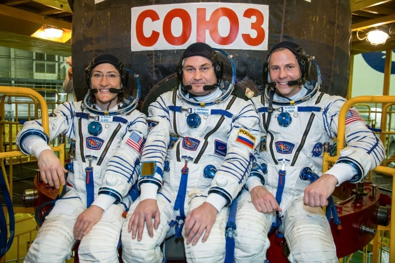 New crew launching to space station on Thursday