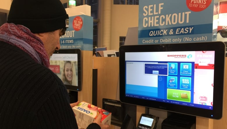 Some Shoppers Drug Mart staff say they're 'fed up' with pressure to push self-checkout
