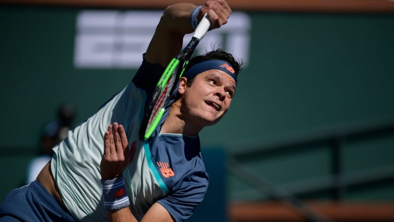 Milos Raonic ends lucky loser's run at Indian Wells