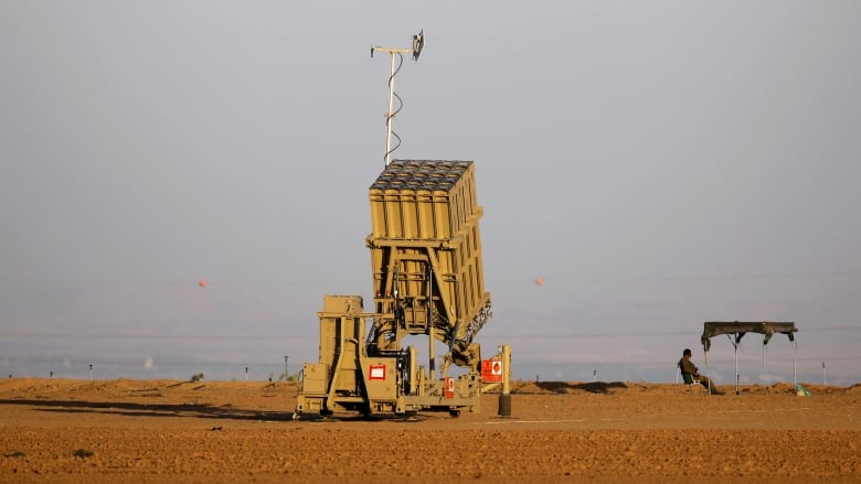1 rocket lands in Israel, another intercepted