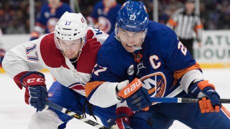 Canadiens lslanders Hockey