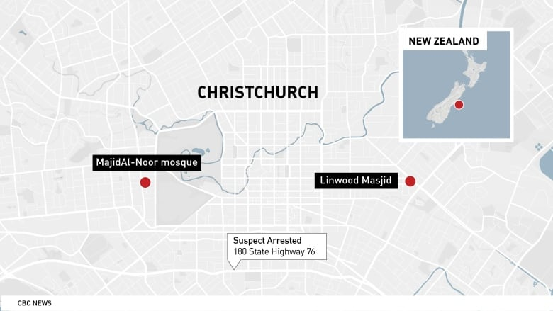 New Zealand Highway Map.When Gunman Advanced On New Zealand Mosque This Man Ran At Him