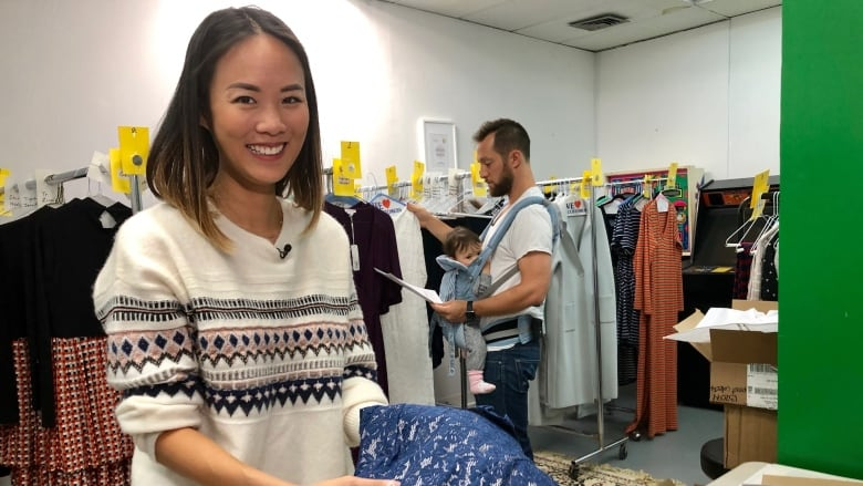 2a1b7d8c37719 Joyce Lim co-founded the Sprout Collection with her husband, Josh, after  struggling to find affordable and sustainable maternity clothes in the GTA  during ...