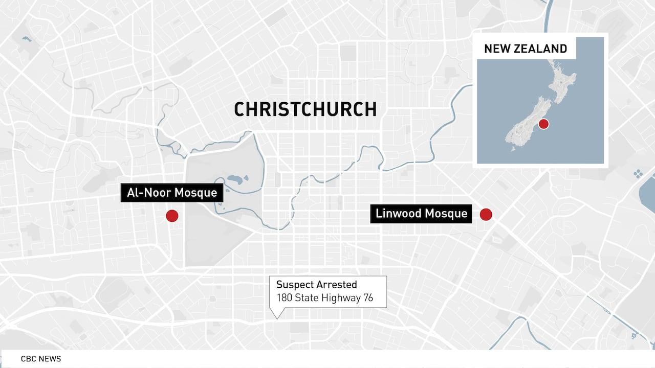 Accused gunman charged with murder in New Zealand mosque ...