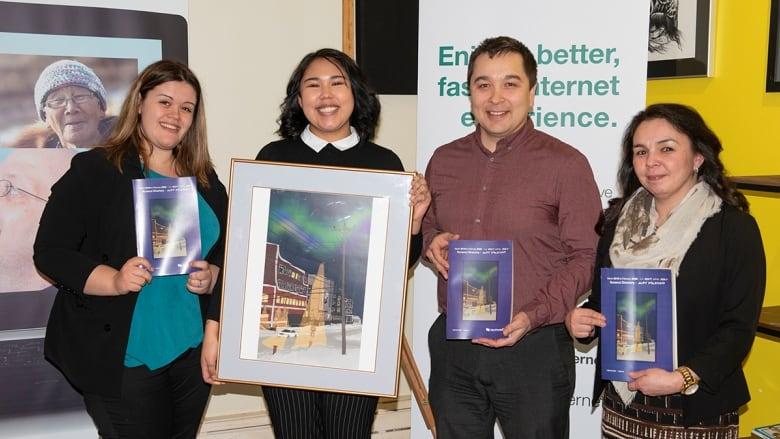 'Four corners' digital artwork wins place on Nunavut phone book