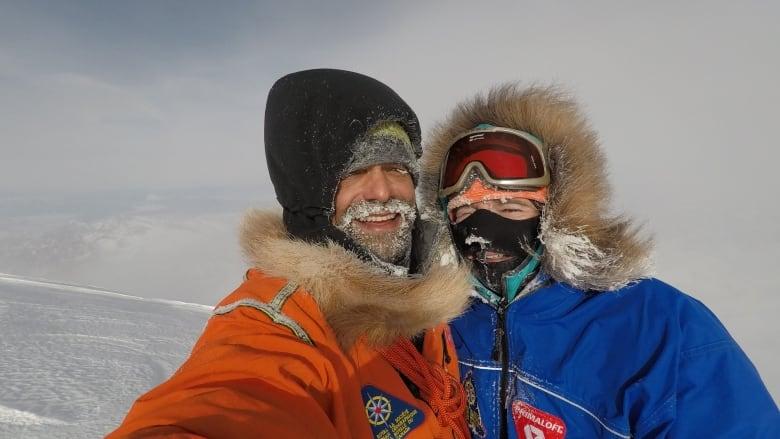 Climbers make 1st winter ascent of Yukon's Mount Wood