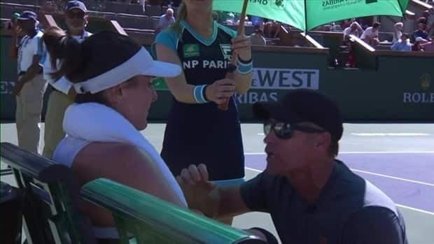 Bianca Andreescu tells coach during pep talk, 'I want this so bad'