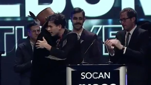 Arkells give Juno speech time to Jeremy Dutcher for stirring reconciliation speech