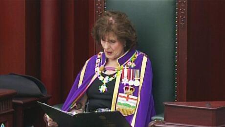 Alberta government touts record of restoring trust in pre-election throne speech