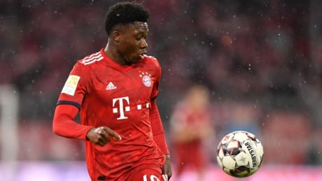 Alphonso Davies doubtful for Canada game in Vancouver