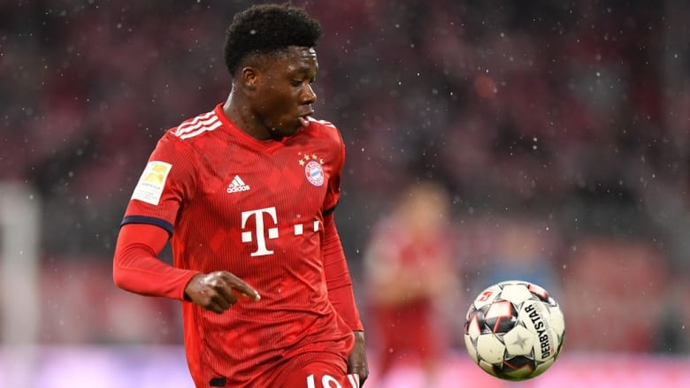 3e573aac851 Alphonso Davies doubtful for Canada game in Vancouver