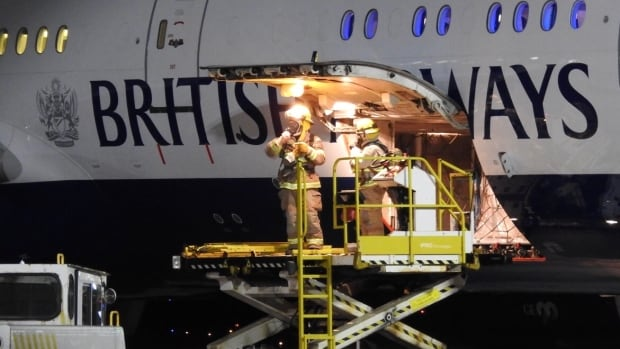 Suspicion of fire in cargo hold prompts emergency British Airways landing in St. John's
