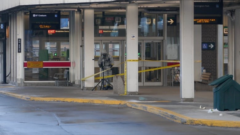 Suspect facing multiple charges after 2 suspicious package incidents at Broadview station