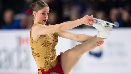 Canadian figure skater Aurora Cotop has all the makings of a future star