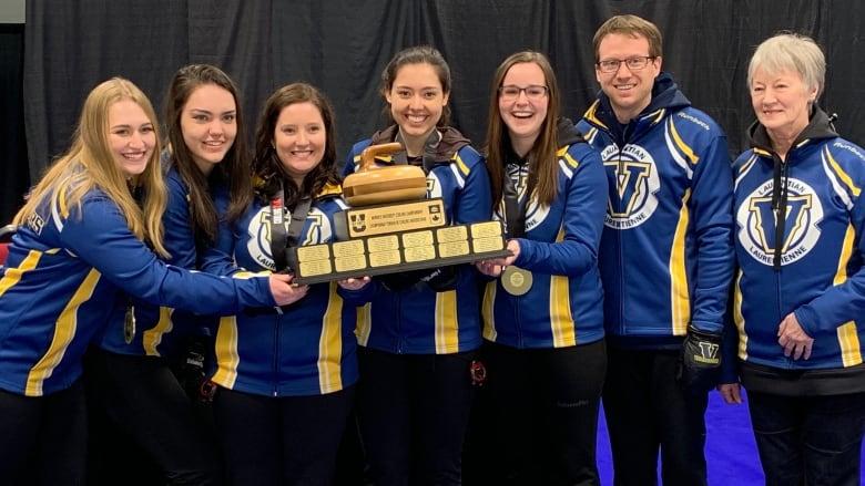 Laurentian University women's curling team wins national championships