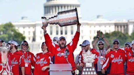 Capitals-White House Hockey
