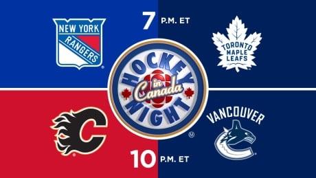 HNIC NYR at TOR - CGY at VAN - Rangers at Maple Leafs - Flames at Canucks