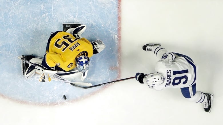 Predators' Rinne shuts out Leafs again as Toronto continues to struggle