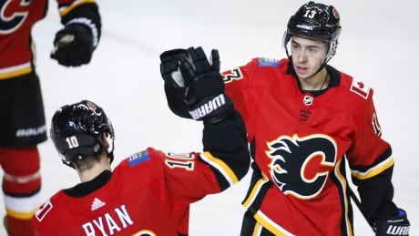 Flames strengthen hold atop division with win over Columbus