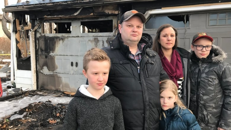 'We would have been dead': Father outraged after engine fire puts family at risk