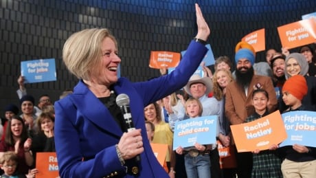 Rachel Notley's NDP starts Alberta campaign with big hill to climb