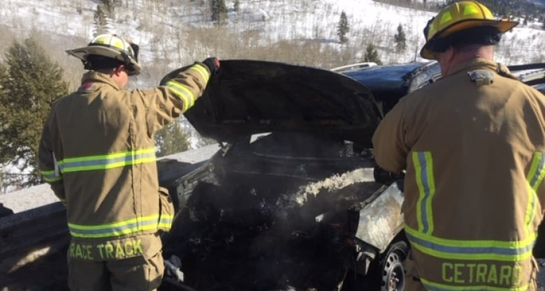 We would have been dead': Father outraged after engine fire