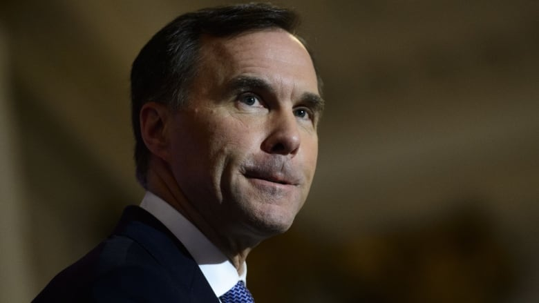1 day after Trans Mountain approval, Bill Morneau stops in Calgary