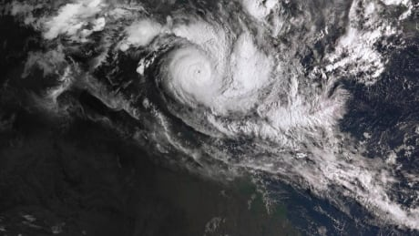 Australia moving 2,000 people out of powerful cyclone's path