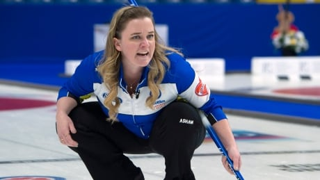 Canada drops back out of playoff position at women's curling worlds