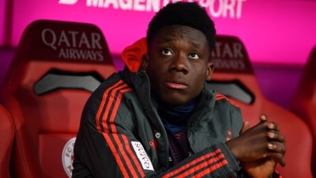 Alphonso Davies out for Canada's CONCACAF qualifier with knee injury