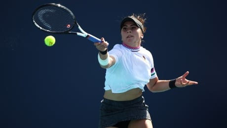 Bianca the Battler: Andreescu saves match point to win opener in Miami