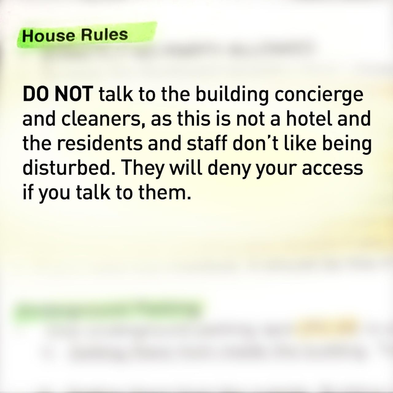 I felt like a criminal': Airbnb hosts ask guests to lie, sneak