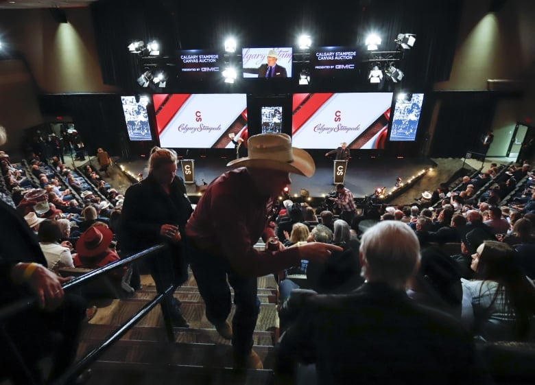 Bidders Take Their Seats At The Calgary Stampede