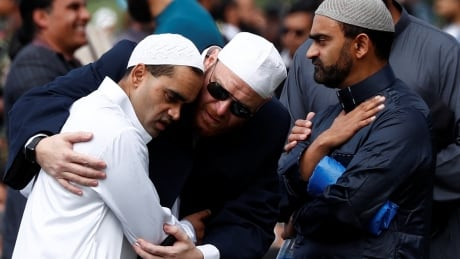 'We are one:' New Zealand PM joins thousands to mourn mosque attack victims