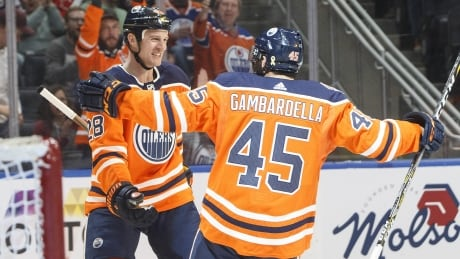 Oilers end 2-game skid, Columbus slips out of wild-card spot