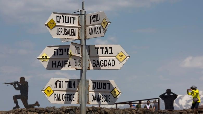 Resultado de imagen para eu israel y golan