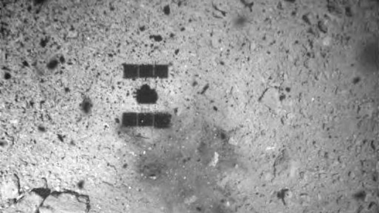A Japanese spacecraft visits an asteroid — and will bring back a souvenir